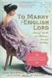 Cover of To Marry an English Lord