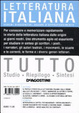 Cover of Tutto letteratura italiana