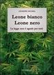 Cover of Leone bianco, leone nero