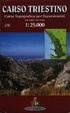 Cover of Carso triestino 1:25.000