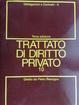 Cover of Trattato di diritto privato: Obbligazioni e contratti