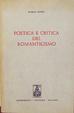 Cover of Poetica e critica del Romanticismo italiano