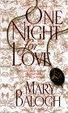 Cover of One Night for Love
