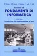 Cover of Lezioni di fondamenti di informatica / Tecniche di programmazione in Java