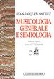 Cover of Musicologia generale e semiologia