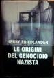 Cover of Le origini del genocidio nazista