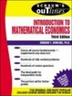 Cover of Schaum's Outline  Introduction to Mathematical Economics