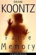 Cover of False Memory