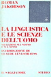 Cover of La linguistica e le scienze dell'uomo