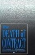 Cover of The Death of Contract