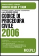 Cover of Codice di procedura civile 2006