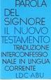 Cover of Parola del Signore: Il Nuovo Testamento