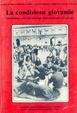 Cover of La condizione giovanile