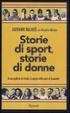 Cover of Storie di donne, storie di sport. In una galleria di ritratti, il segreto dello sport al femminile