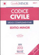 Cover of Codice civile e leggi complementari. Ediz. minor