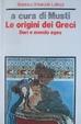Cover of Le origini dei greci