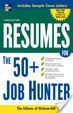 Cover of Resumes for 50+ Job Hunters