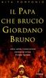 Cover of Il papa che bruciò Giordano Bruno