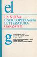 Cover of La nuova enciclopedia della letteratura Garzanti