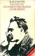 Cover of Nietzsche filosofo psicologo anticristo