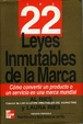 Cover of Las 22 Leyes Inmutables de La Marca
