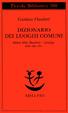 Cover of Dizionario dei luoghi comuni