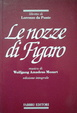 Cover of Le nozze di Figaro
