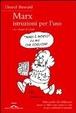 Cover of Marx, istruzioni per l'uso