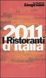 Cover of I ristoranti d'Italia 2011