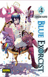 Cover of Blue Exorcist #4