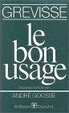 Cover of Le Bon Usage