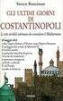 Cover of Gli ultimi giorni di Costantinopoli