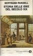 Cover of Storia delle idee del secolo XIX