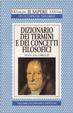 Cover of Dizionario dei termini e dei concetti filosofici