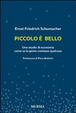 Cover of Piccolo è bello. Uno studio di economia come se la gente contasse qualcosa