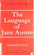 Cover of The language of Jane Austen