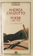 Cover of Poesie 1938-1972