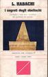 Cover of I segreti degli obelischi