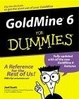 Cover of GoldMine 6 for Dummies