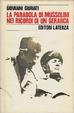 Cover of La parabola di Mussolini nei ricordi di un gerarca