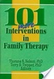 Cover of 101 more interventions in family therapy