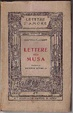 Cover of Lettere alla musa