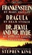 Cover of Frankenstein - Dracula - Dr. Jekyll and Mr. Hyde