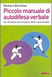 Cover of Piccolo manuale di autodifesa verbale