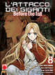 Cover of L'attacco dei Giganti - Before the Fall vol. 8