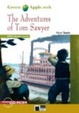 Cover of The Adventures of Tom Sawyer. Con CD Audio E CD-ROM