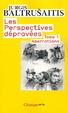 Cover of Les perspectives dépravées, Tome 1