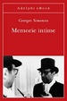 Cover of Memorie intime