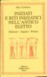 Cover of Iniziati e riti iniziatici nell'antico Egitto