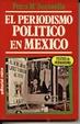 Cover of El periodismo político en México